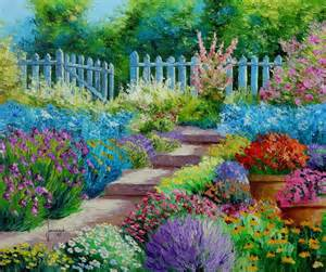 jm janiaczyk les fleurs du jardin