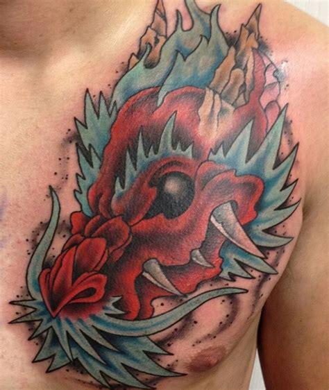 dragon chest tattoo designs 22 chest designs ideas design trends premium