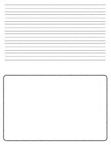 Second Grade Writing Paper Printable 2nd Grade Writing Paper Coffemix