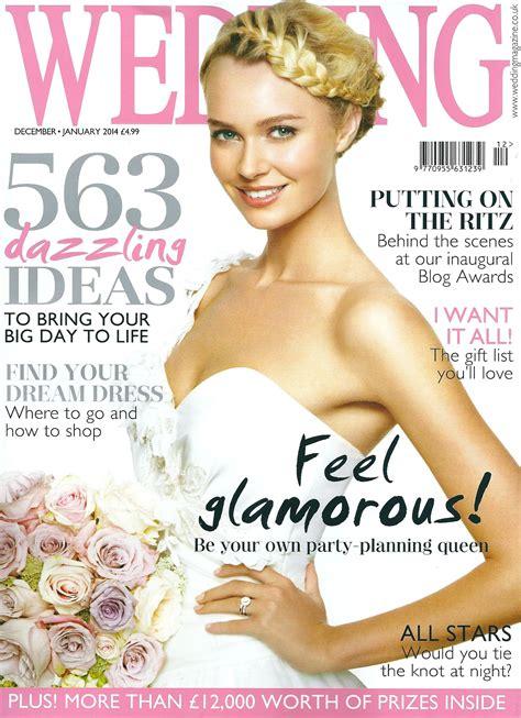 The Wedding Magazine by Wedding Magazine Press Cranberry Blue