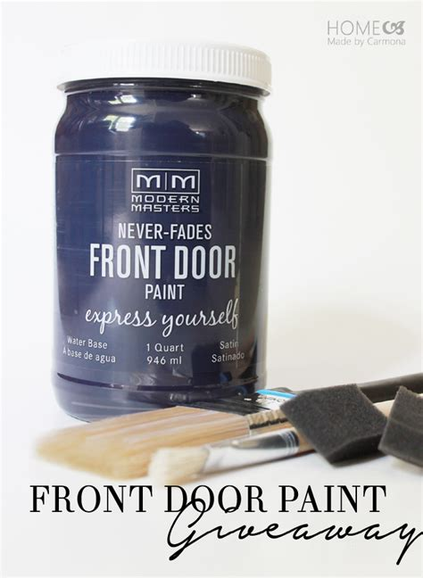 Front Door Sweepstakes - front door paint giveaway home made by carmona