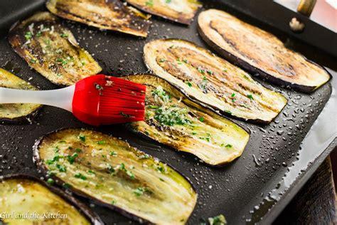 healthy pan fried baby eggplant  gremolata girl   kitchen