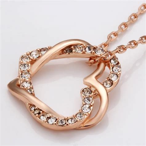 Minimalist Necklace Butterflies Titanium Steel Silver Plated 18k eternal soulmate 18k gold necklace jewelry