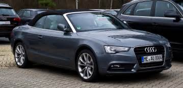 file audi a5 cabriolet tfsi facelift frontansicht 31