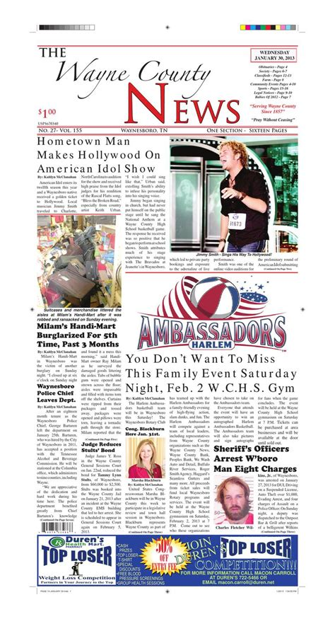 wayne county section 8 wayne county news 01 30 13 by chester county independent