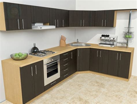 kitchen model 3d kitchen decorating ideas home designs
