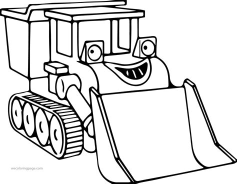 the coloring pages bob the builder muck coloring page wecoloringpage