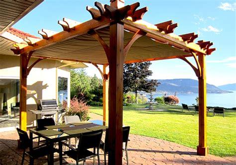 Pergola With Retractable Canopy 10x12 Covered Outdoor Pergola 10 X 12