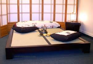 Japanese Bed by Raku Japanese Tatami Bed Haikudesigns Com