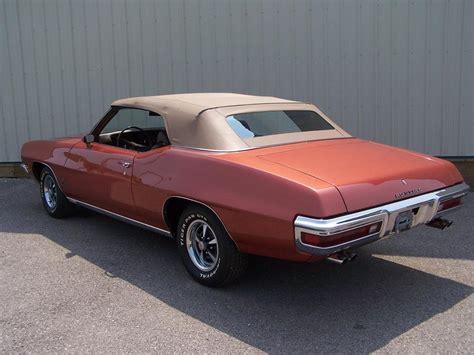 pontiac sports 1972 pontiac lemans sport convertible 60836