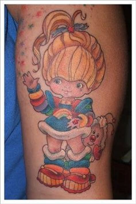 rainbow brite tattoo designs rainbow brite see the shining light on chibi