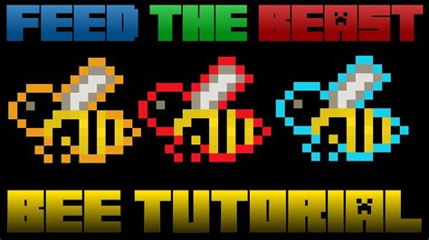 bee mine craft minecraft mods bees tutorial from start to automation
