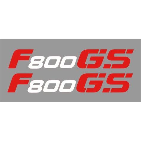 Aufkleber Bmw F 800 Gs by 2 Aufkleber F800gs Wei 223