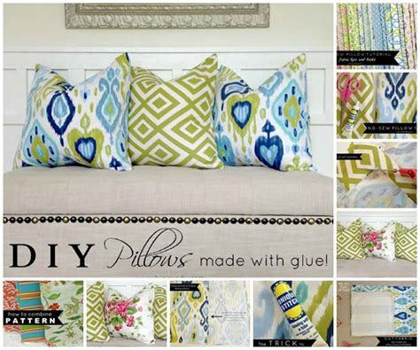 How To Sew Pillows by 45 Diy Pillows Diy Projects For