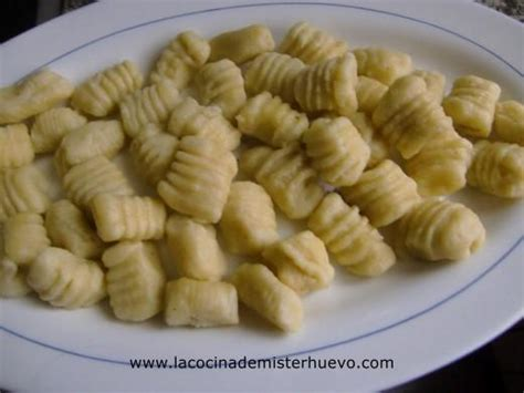 cocinar gnocchi la cocina de mister huevo recetas de cocina y buena comida