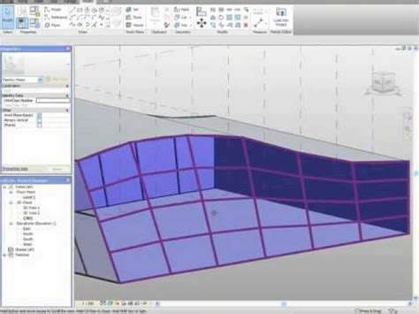 revit tutorial conceptual mass tutorial revit curtain wall irregular para conceptual