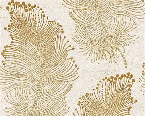 wallpaper gold floral baroque floral wallpaper in gold and ivory design by bd