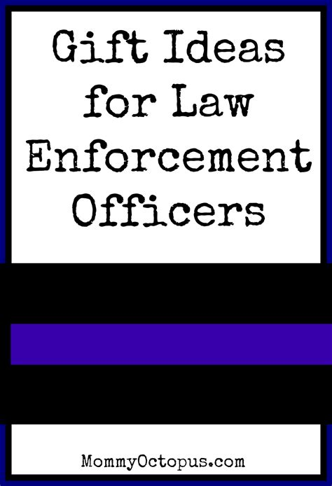 christmas gift ideas for law enforcement officers mommy