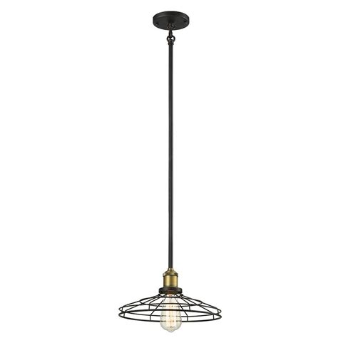 lewis lights pendant springdale lighting lewis 1 light antique bronze pendant sph15020 the home depot