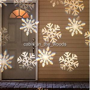 panoramic outdoor snowflake christmas light projector 10