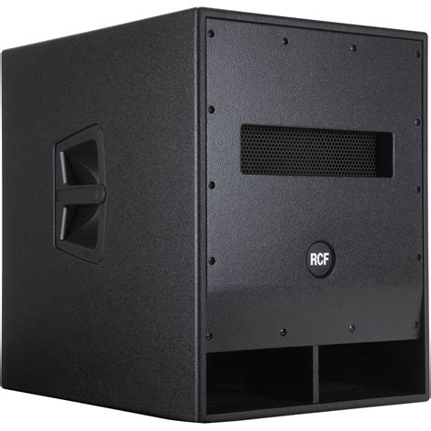 rcf sub 718 as active subwoofer sub 718as b h photo