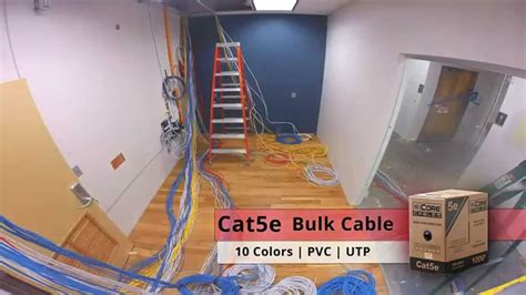build room server room build out time lapse showmecables youtube