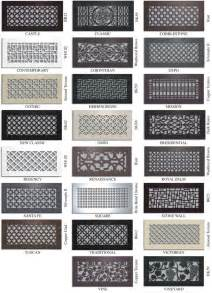 Decorative Air Vents Vent Covers Unlimited Custom Metal Registers And Air