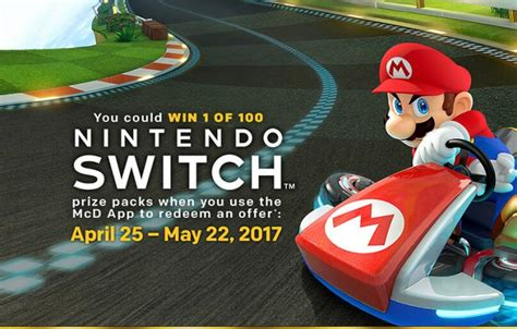 mcdonald s is launching a nintendo switch giveaway on april 25th winzily - Mcdonalds Nintendo Switch Sweepstakes