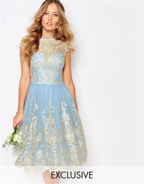 Kr1799 Dress Premium chi chi midi prom dress with skirt and bardot neck navy fr 229 n chi chi f 246 r