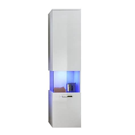 white high gloss bathroom wall cabinets dale wall mounted right bathroom cabinet in white gloss