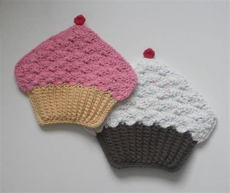 pattern for cupcake holder cupcake potholder by crochet amore craftsy