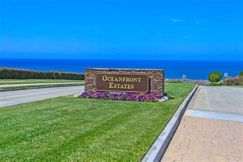 oceanfront estates palos verdes beach cities real estate