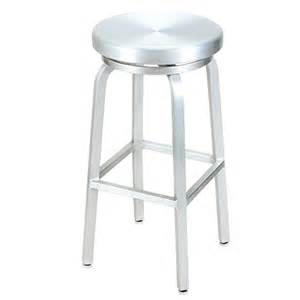 commercial outdoor bar stools g and a commercial seating 891 g a outdoor swivel bar stool lightweight brushed aluminum 30 quot h