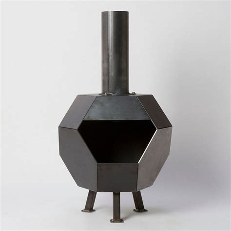 Metal Chiminea Pit Prism Steel Chiminea Outdoor Living Gift Guide And New New