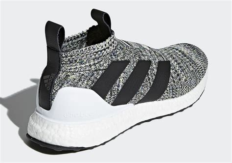 Adidas Ultra Boost Ace 16 Black Bred adidas ace 16 ultra boost black white pack sneakers addict