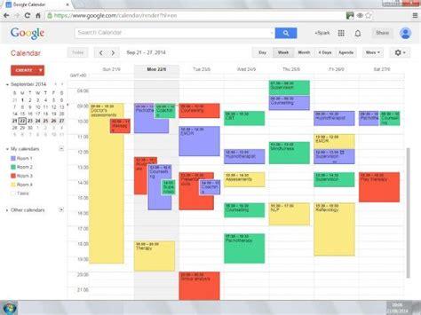 Calendar Room Booking System by Calendar Booking System Calendar
