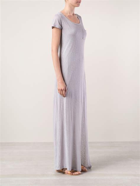 99022 Zada Gray 2 In 1 Maxi splendid tshirt maxi dress in gray lyst