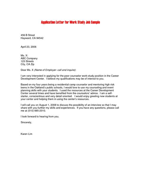 Covering Letter Exles For Application by Cover Letter For Application Pdf Lifiermountain Org