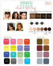 color analysis color analysis 3 degrees of warm fresh
