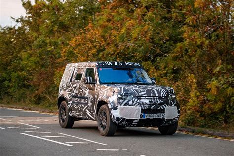 land rover defender 2020 2020 land rover defender spied in testing