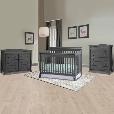 storkcraft avalon 6 drawer dresser gray storkcraft modena 3 piece nursery set convertible crib