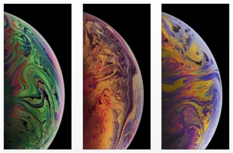the 3 iphone xs max wallpapers of bubbles
