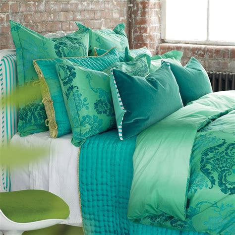 Jade Comforter Set by District17 Kashgar Jade Duvet Cover Duvet Covers