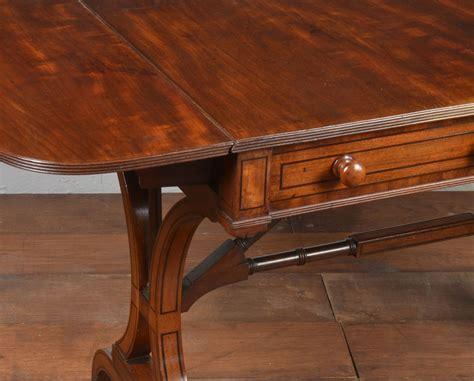 mahogany sofa table regency mahogany sofa table antiques atlas