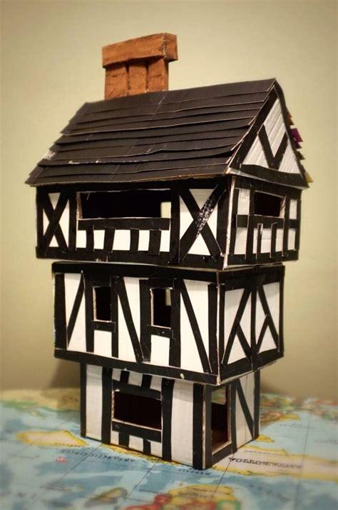 make house tudor house for junior school project children