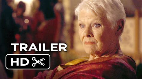 exotic marigold hotel official trailer   judi dench  hd youtube