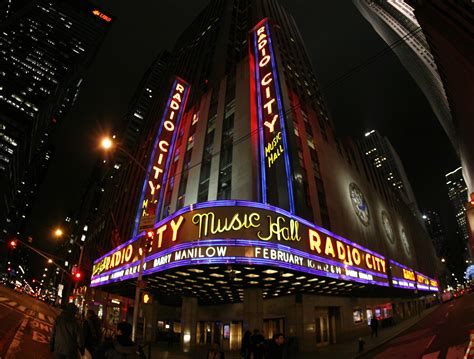 radio city new york new york quot here i stand quot