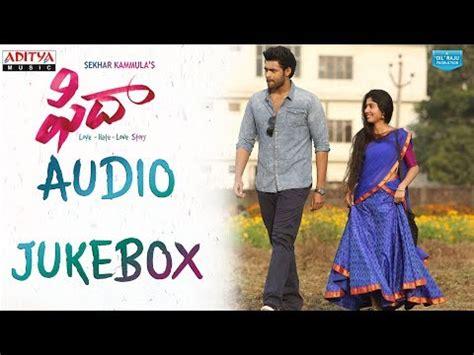 download mp3 from fidaa download fidaa full songs jukebox fidaa songs varun