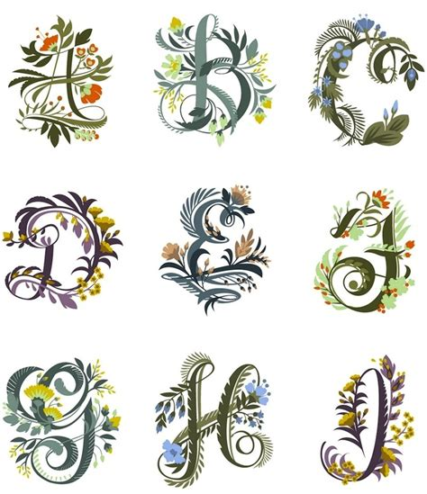 floral pattern font floral fonts paper goods calligraphy pinterest