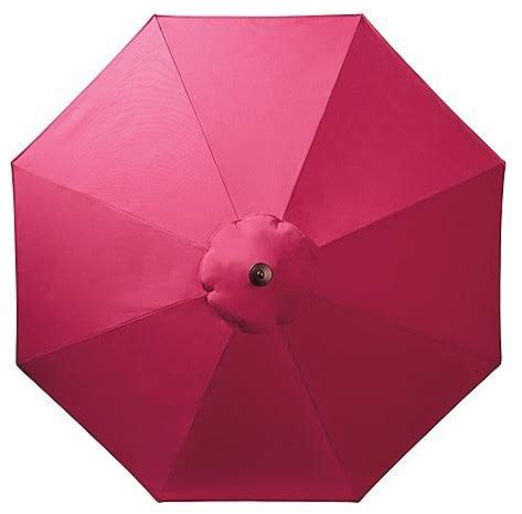 pink patio umbrella outdoor market patio umbrella insunbrella pink black